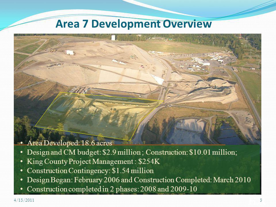 Area 7 Development Overview