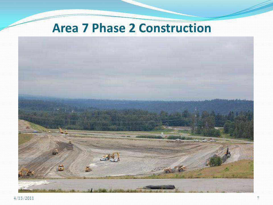 Area 7 Phase 2 Construction