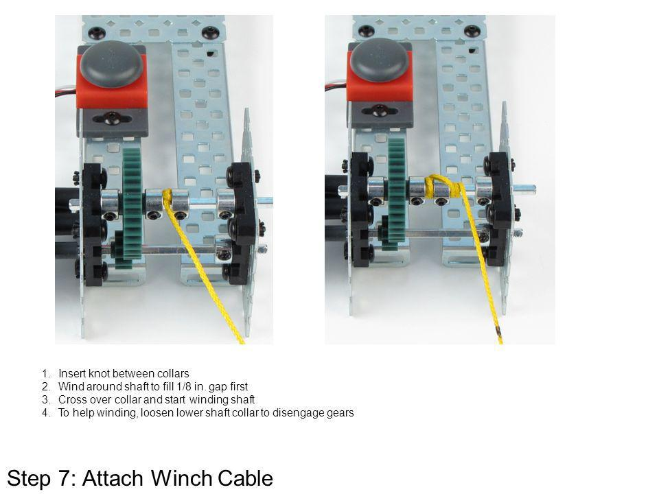 Step 7: Attach Winch Cable