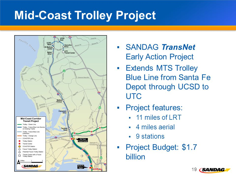 Mid-Coast Trolley Project