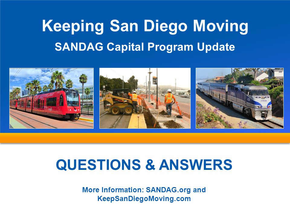 Keeping San Diego Moving