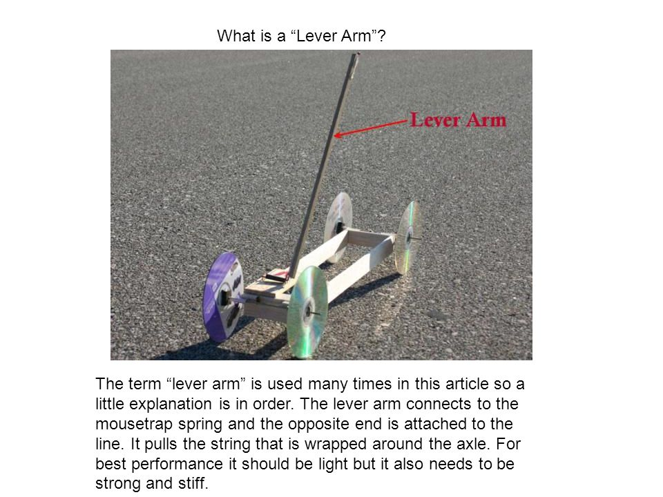 What is a Lever Arm