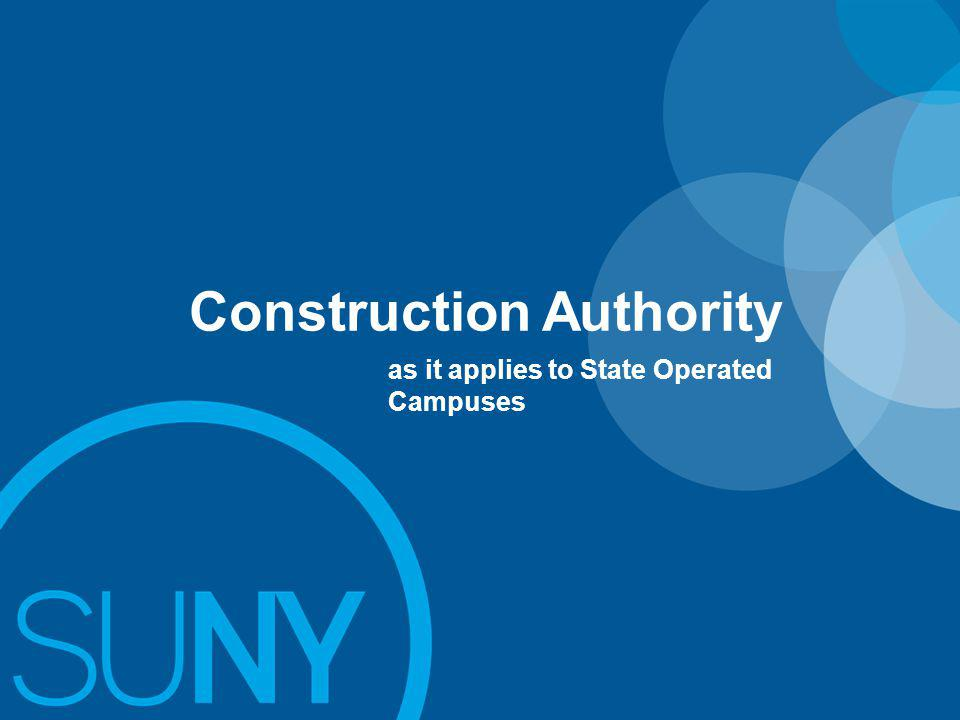 Construction Authority