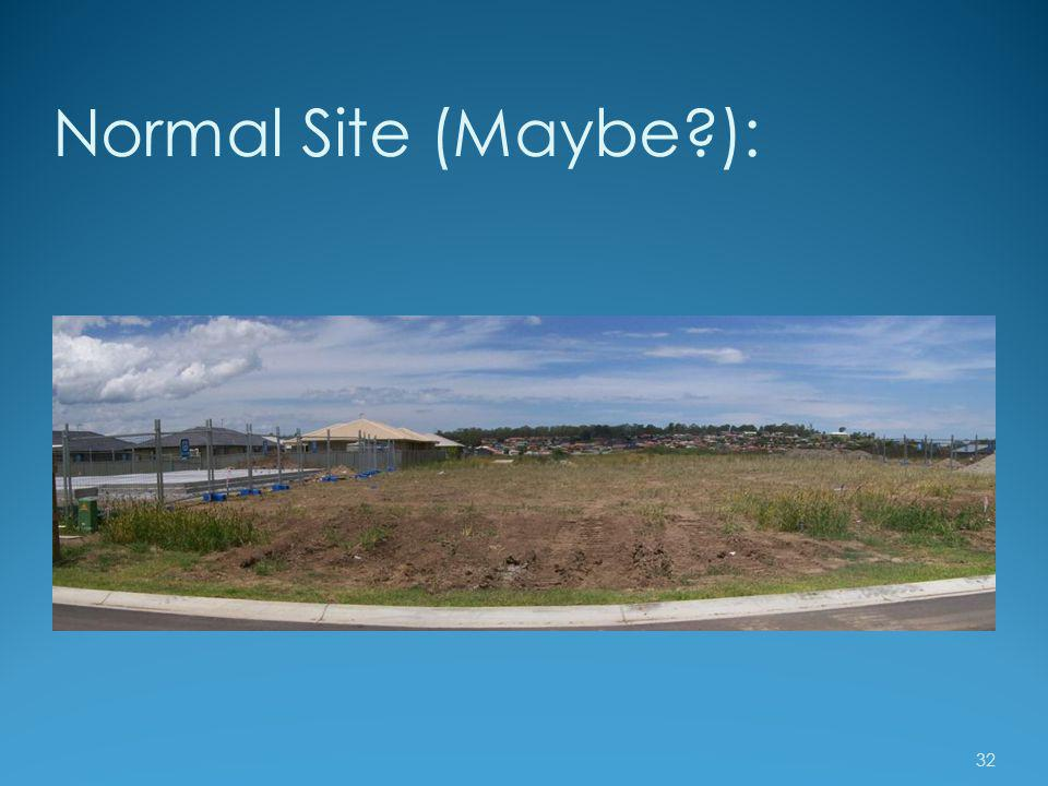 Normal Site (Maybe ):