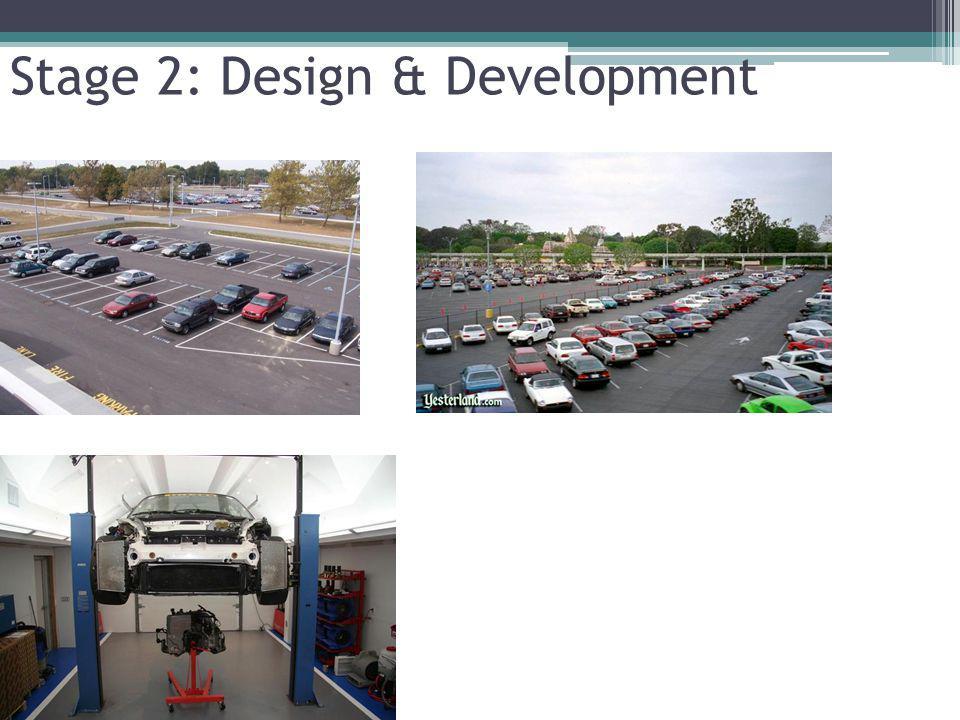 Stage 2: Design & Development