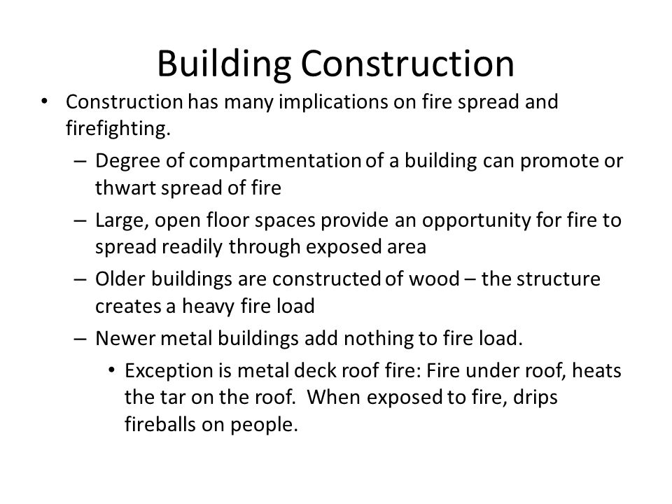 Building Construction