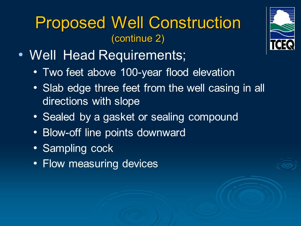 Proposed Well Construction (continue 2)