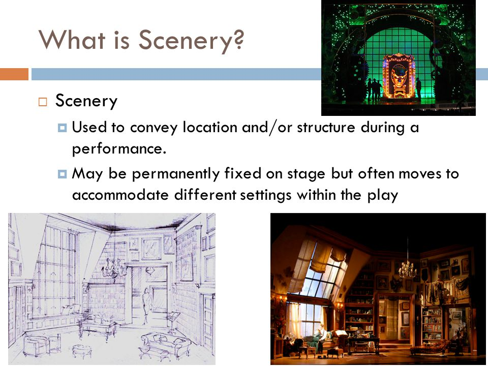 What is Scenery Scenery