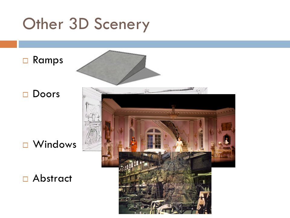 Other 3D Scenery Ramps Doors Windows Abstract