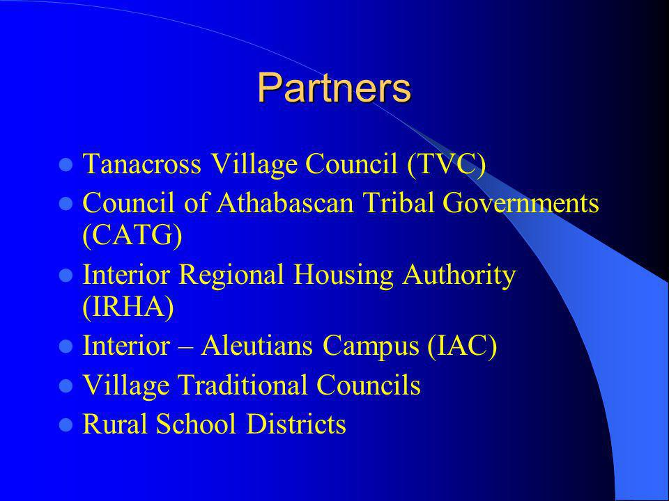 Partners Tanacross Village Council (TVC)
