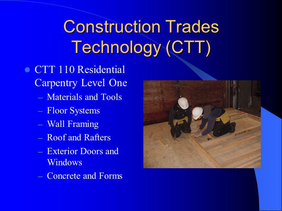 Construction Trades Technology (CTT)