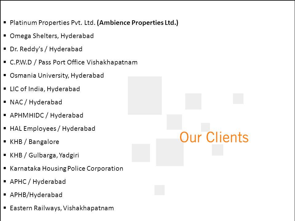 Platinum Properties Pvt. Ltd. (Ambience Properties Ltd.)