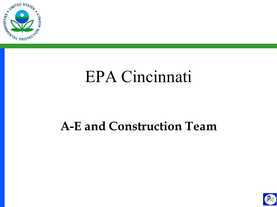 A-E and Construction Team