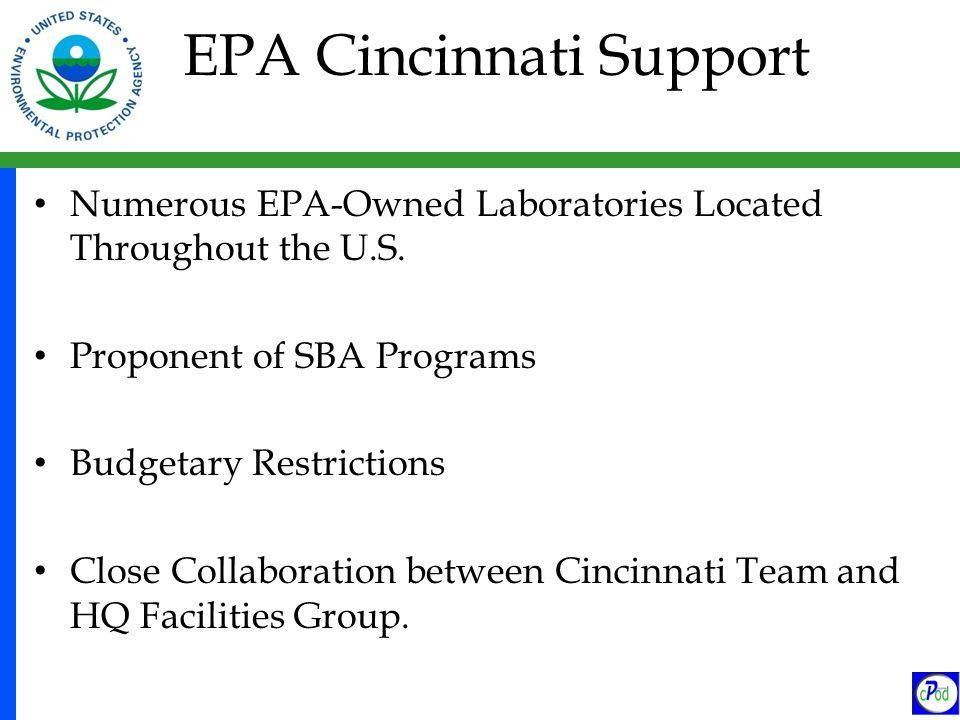 EPA Cincinnati Support