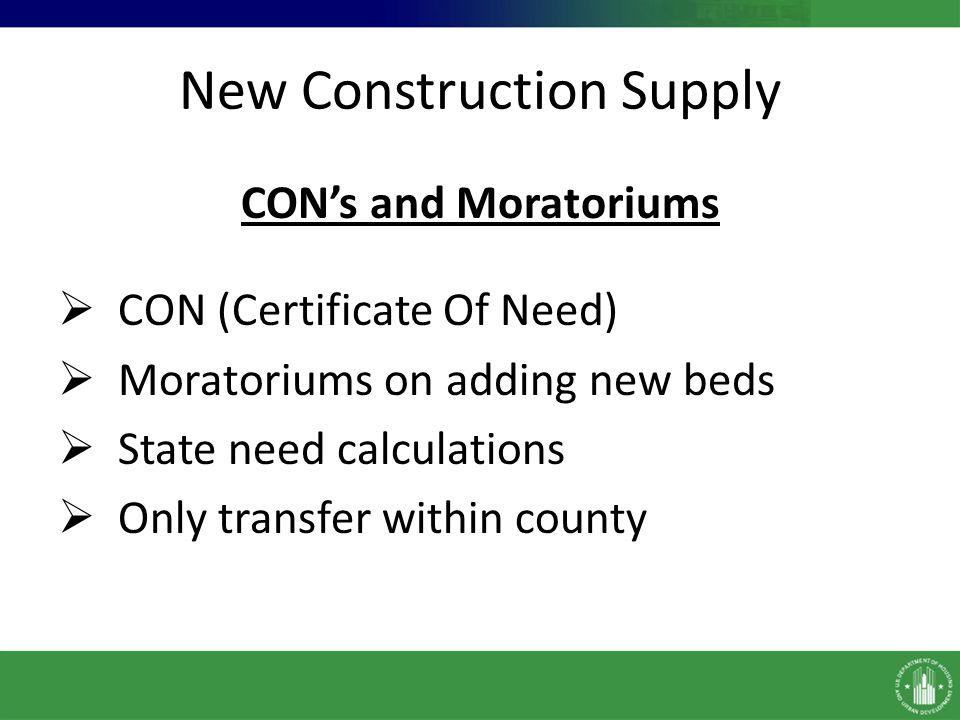 New Construction Supply