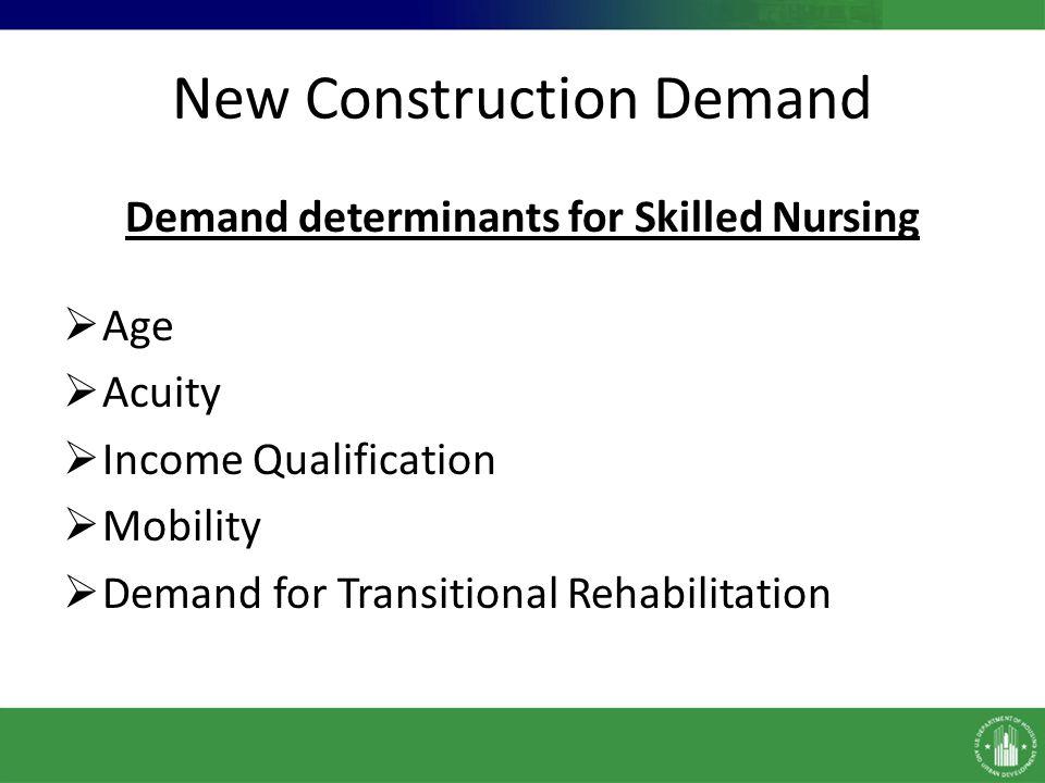 New Construction Demand
