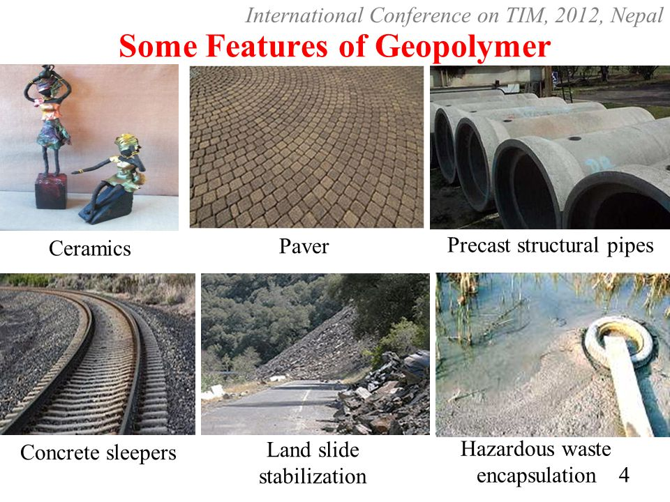 Some Features of Geopolymer