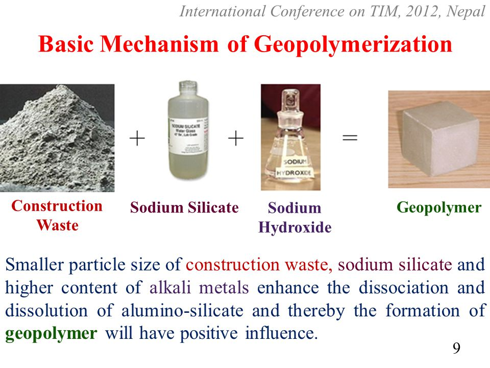 Basic Mechanism of Geopolymerization