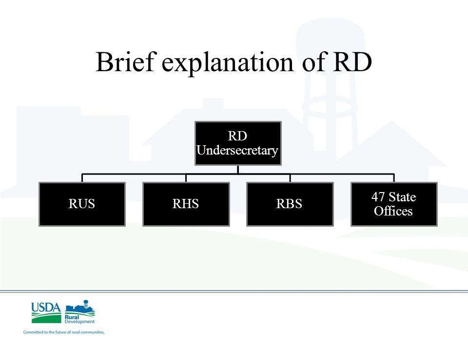 Brief explanation of RD