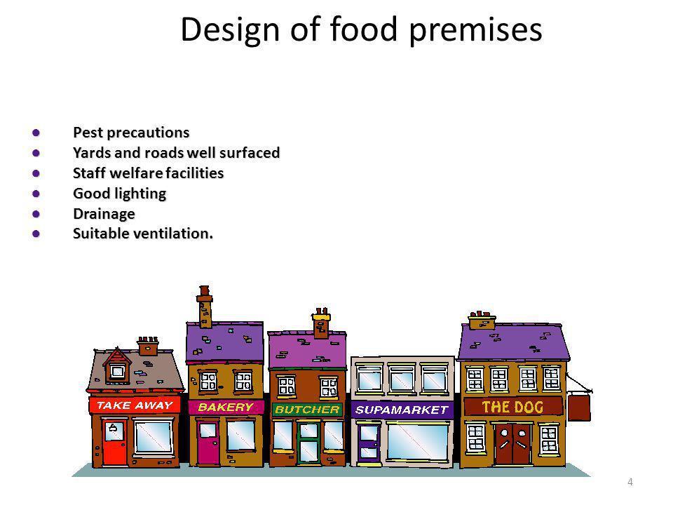 Lesson 9 Design Amp Construction Of Food Premises