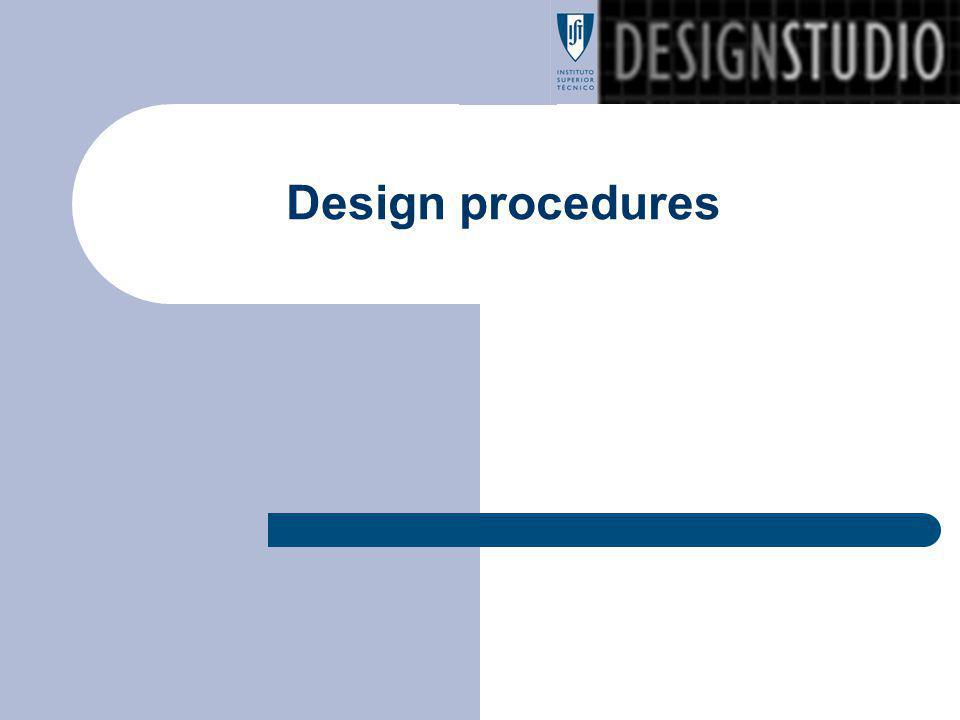 Design procedures