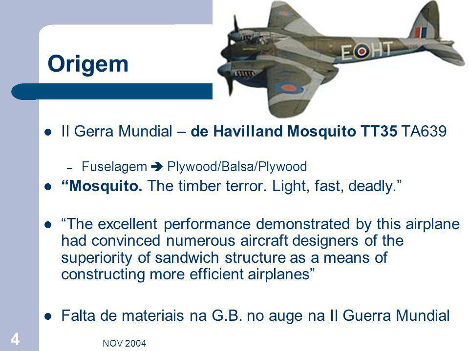 Origem II Gerra Mundial – de Havilland Mosquito TT35 TA639