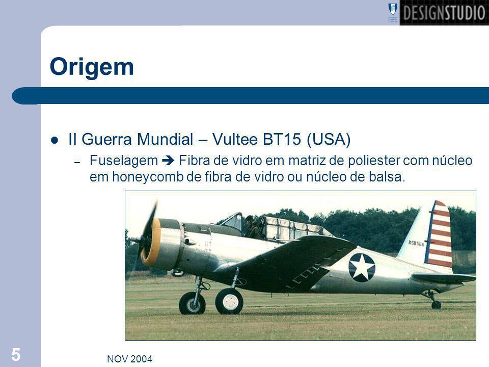 Origem II Guerra Mundial – Vultee BT15 (USA)
