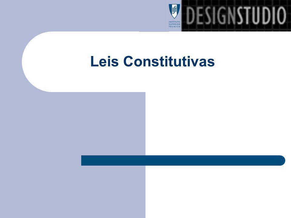 Leis Constitutivas
