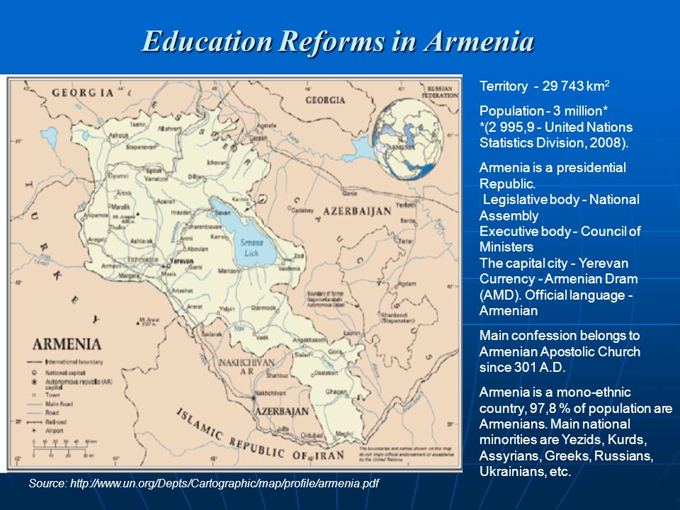 Education Reforms in Armenia