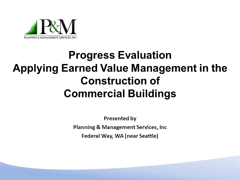 Planning & Management Services, Inc Federal Way, WA (near Seattle)