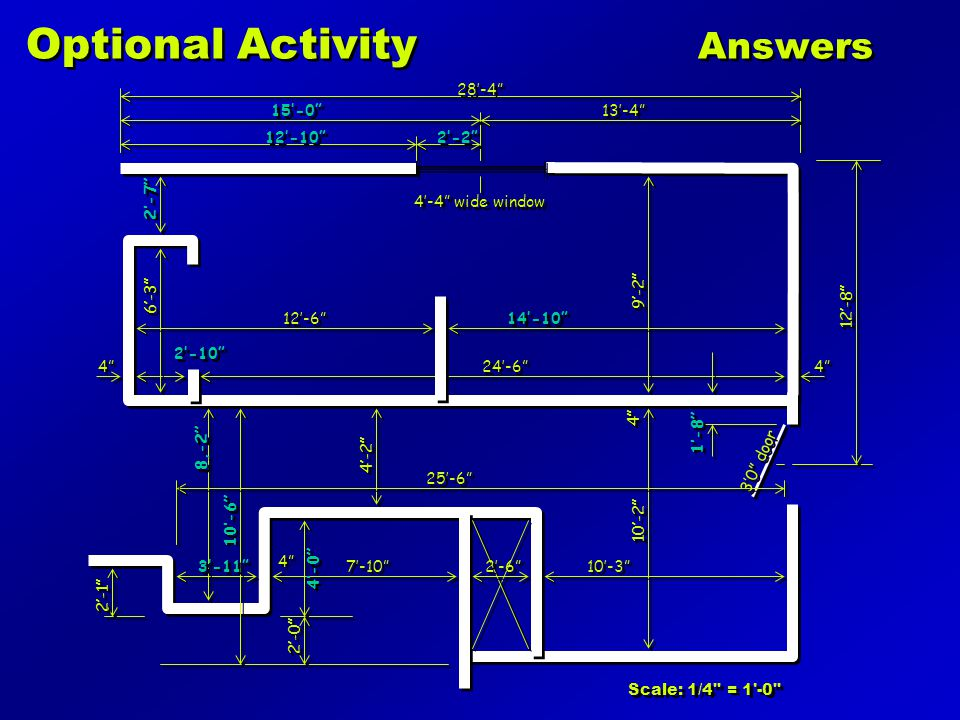 Optional Activity Answers