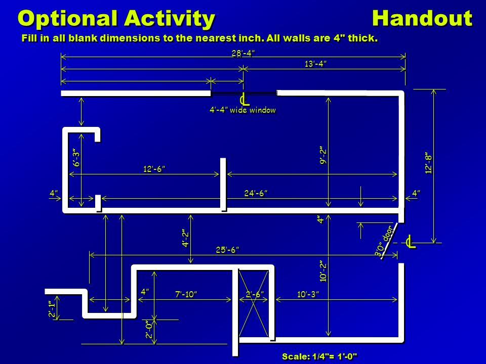 Optional Activity Handout