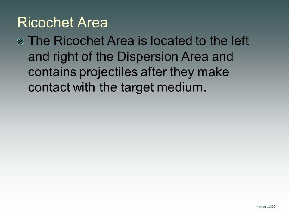 Ricochet Area