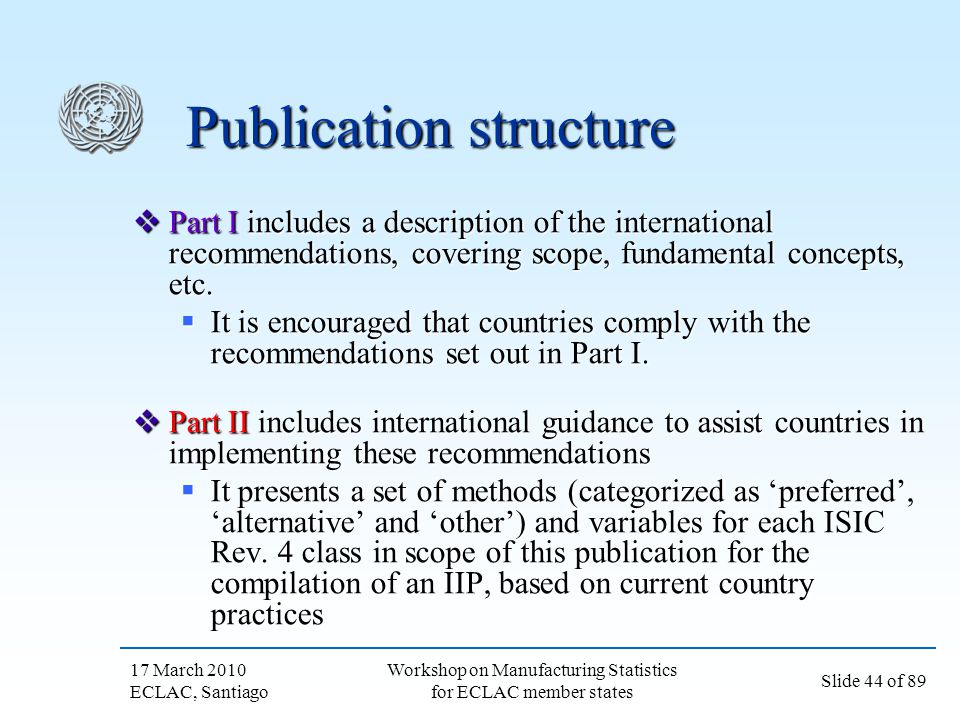 Publication structure
