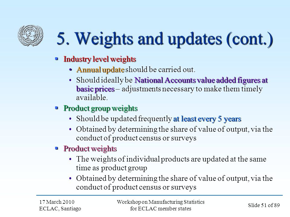 5. Weights and updates (cont.)