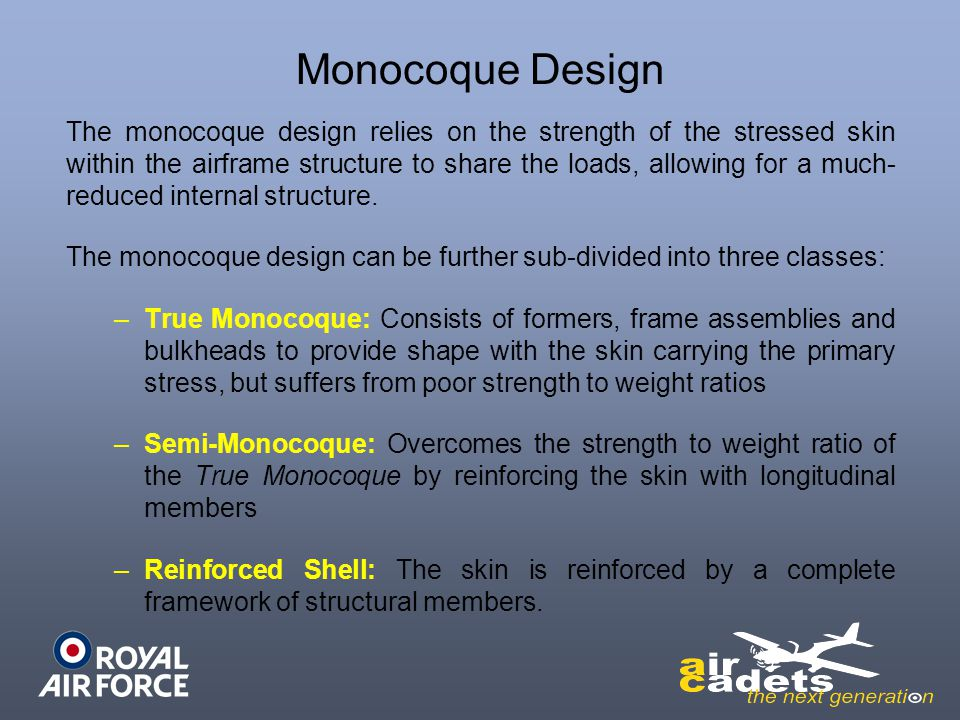 Monocoque Design