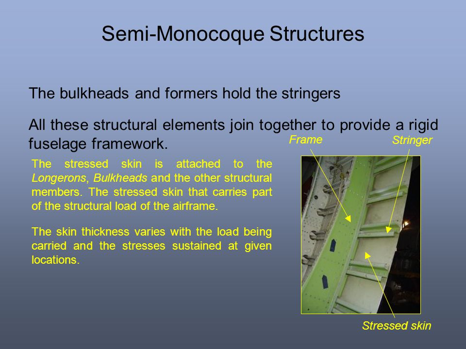 Semi-Monocoque Structures