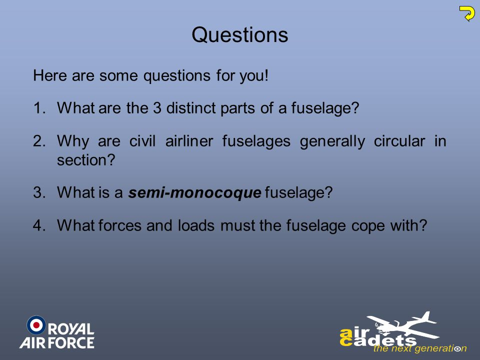 Questions Here are some questions for you!