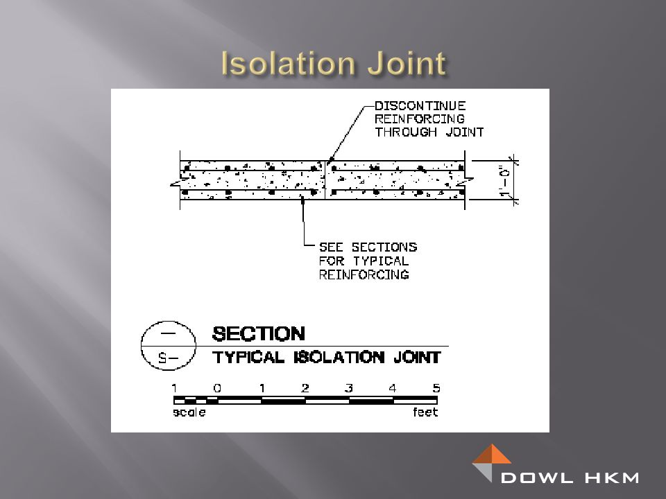 Isolation Joint