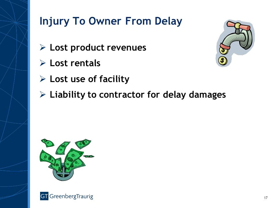 Injury To Owner From Delay