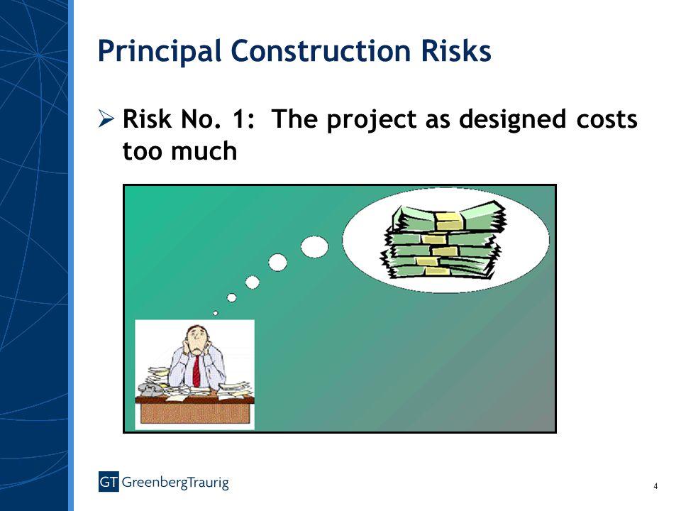 Principal Construction Risks