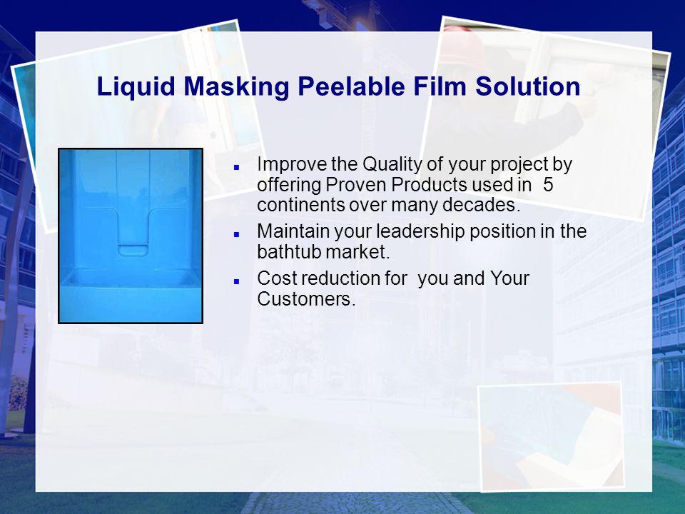 Liquid Masking Peelable Film Solution