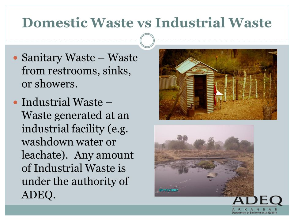 Domestic Waste vs Industrial Waste