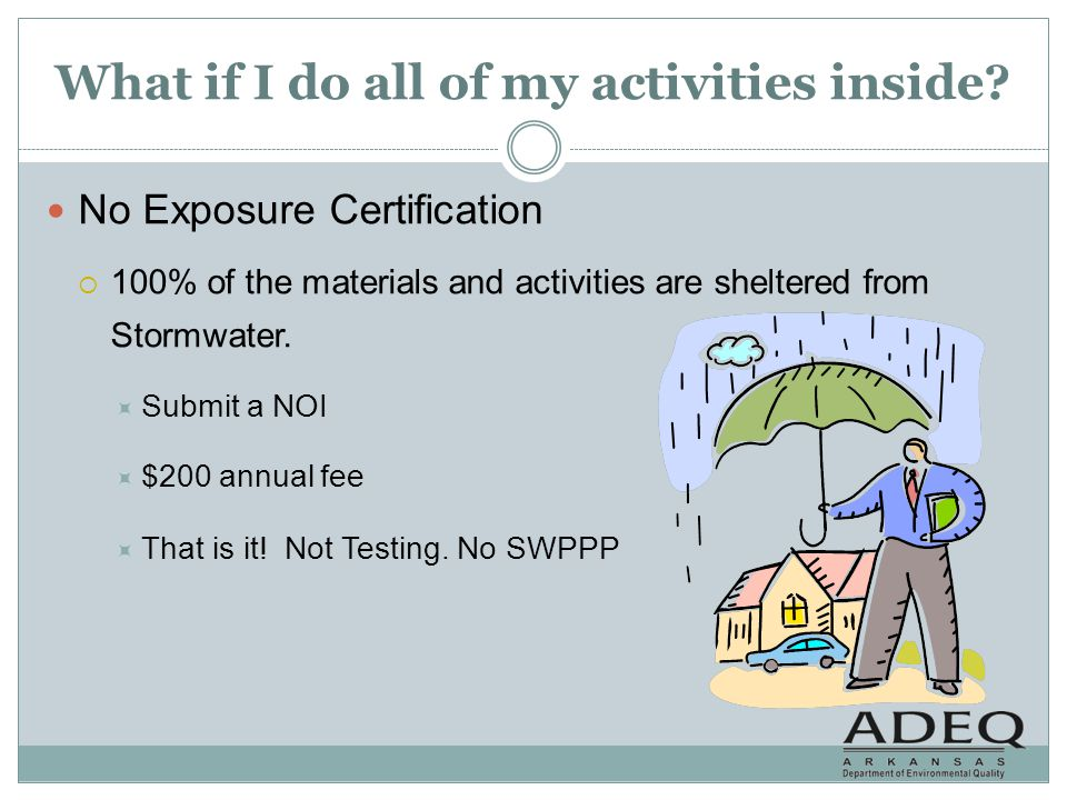 What if I do all of my activities inside