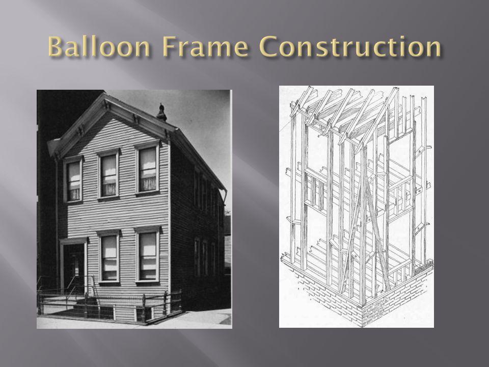 Balloon Frame Construction