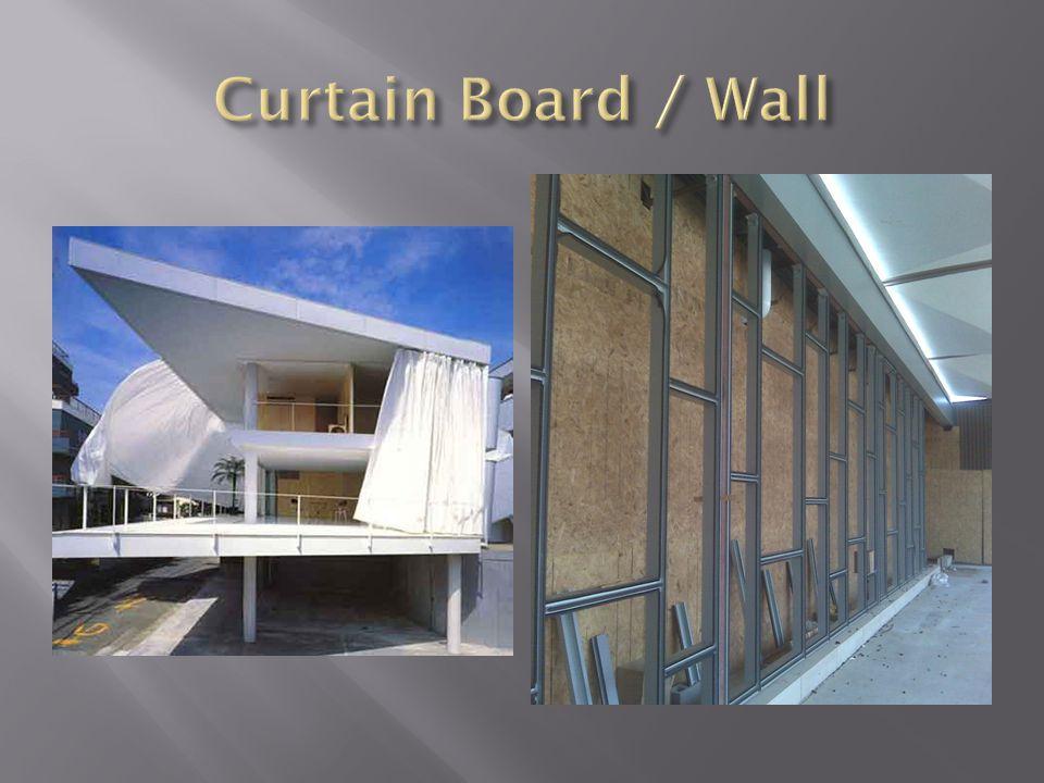 Curtain Board / Wall