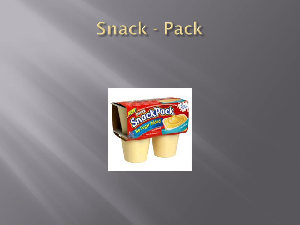 Snack - Pack