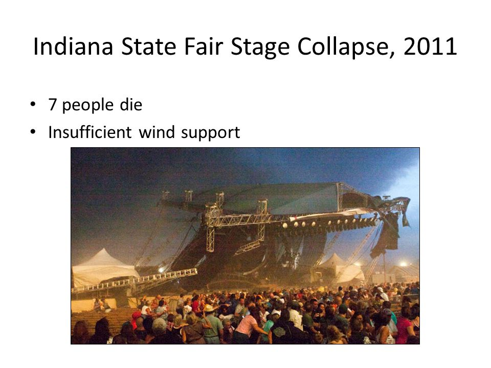 Indiana State Fair Stage Collapse, 2011