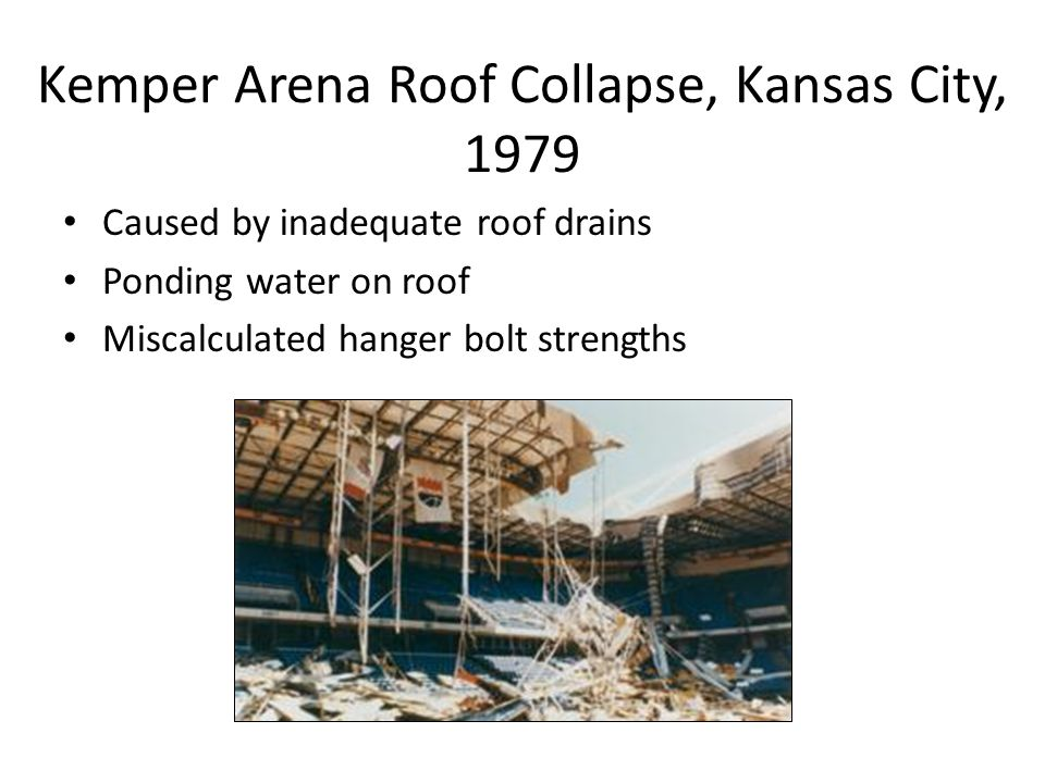 Kemper Arena Roof Collapse, Kansas City, 1979