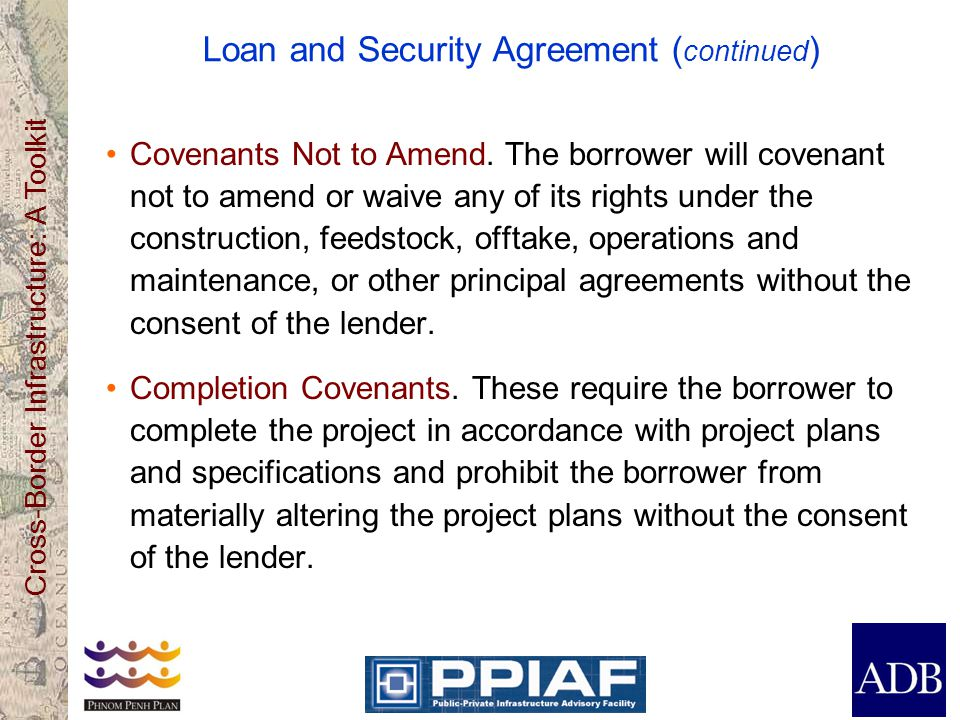 Loan and Security Agreement (continued)